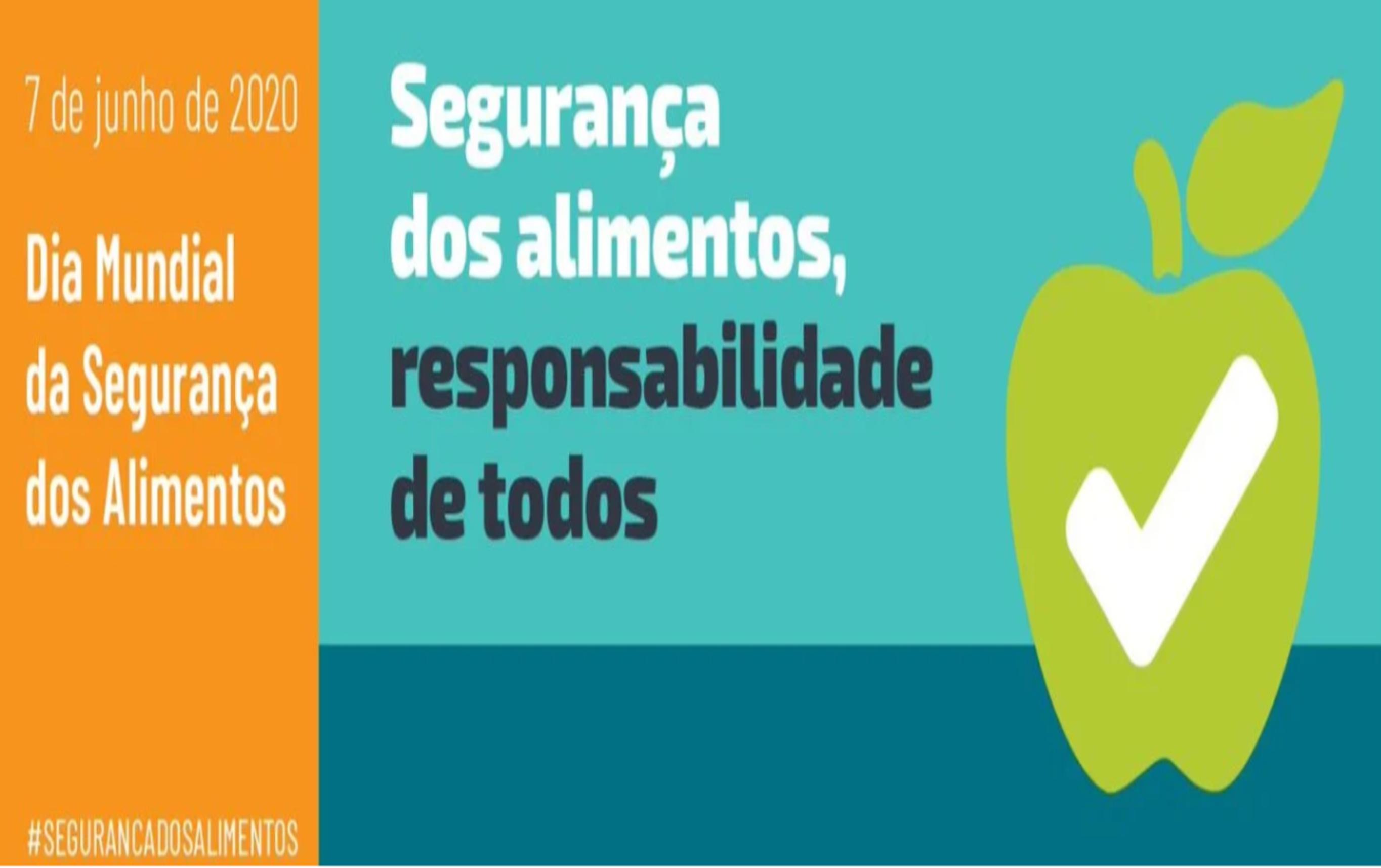 7 de Junho - Dia Mundial da Segurança dos Alimentos